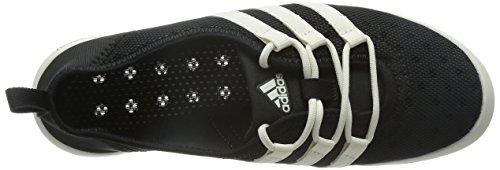 adidas Climacool Boat Sleek, Chaussures de Voile Femme, Mehrfarbig, 4.5 UK Noir - Black (Core Black/Chalk White/Core Black)