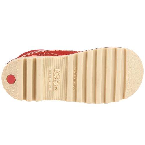 Kickers Kick Hi J, Unisex-Kinder Stiefel Rot (Red)