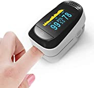 EM 4 in 1 Fingertip Monitor Fitness Monitoring, Monitor with P R and PS02,Accuracy Heart Rate Monitor and SpO2