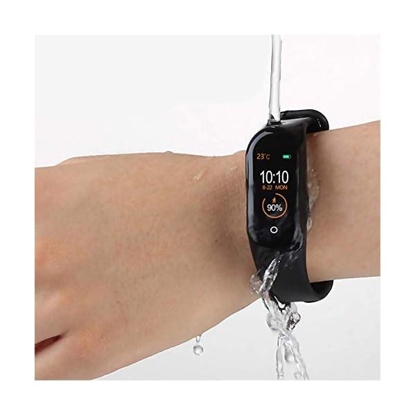 Reloj inteligente de Ango, pulsera de actividad deportiva, frecuencia cardíaca, tensiómetro de la tensión arterial… 3