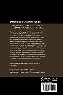 Winning and Losing on the Western Front: The British Third Army and the Defeat of Germany in 1918 (Cambridge Military Histories)