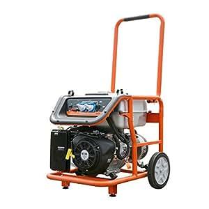 """FUXTEC Benzin Stromerzeuger FX-SG7500, 6500 Watt Leistung, 16 PS 4-Takt Motor mit 420cc Hubraum - 2x 230V Anschluss -getestet als """"Best of"""" in der Oberklasse mit Note 1,5"""