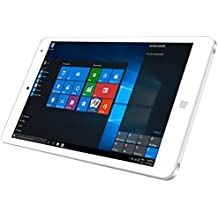 "Chuwi Hi8 Pro - 8"" Tablet PC Windows 10 HDMI (Pantalla IPS, Ram 2GB Rom 32GB, Quad-Core, 1920x1200P, Intel Cherry Trail Z8300, Dual Cámara, Type-C), Blanco"