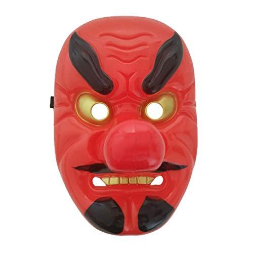 banbie8409 Rotes Plastik Tengu Langer Nasen-Maske Horror Japanische -