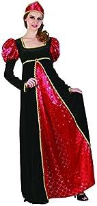 Reír Y Confeti - Ficmou018 - Para Disfraces para Adultos - Queen Costume Deluxe - Mujer - Talla L