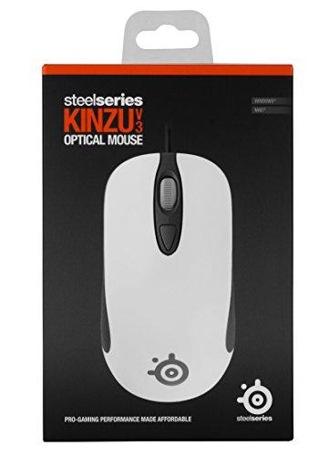 SteelSeries Kinzu V3 Maus weiß - 6