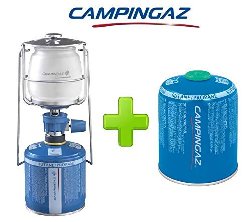 ALTIGASI Lanterne Lampe à gaz Campingaz LUMOGAZ Plus de 80 W + 1 pièce Cartouche CV 470 de 450 GR