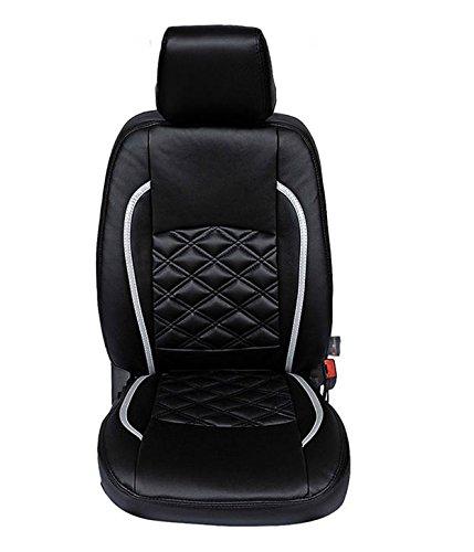Autofurnish (CZ-120 Swiss Black) Mahindra KUV100 Leatherite Car Seat Covers