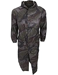Manteau imperméable style camouflage - Homme