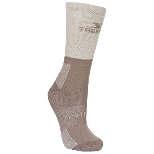 Trespass Damen Leader Socken / Wandersocken (40-43 EU) (Stein meliert)