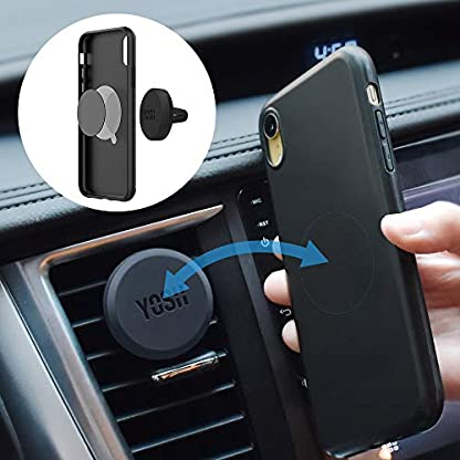 YOSH-Handyhalter-frs-Auto-Magnet-Lftung-Handyhalterung-Auto-Magnet-Handyhalter-Auto-KFZ-Handyhalterung-fr-iPhone-11-Pro-X-XR-8-7-Samsung-S10-S9-S8-Huawei-P30-P20-Mate-MP3-GPS-Gerte-2-Stcke