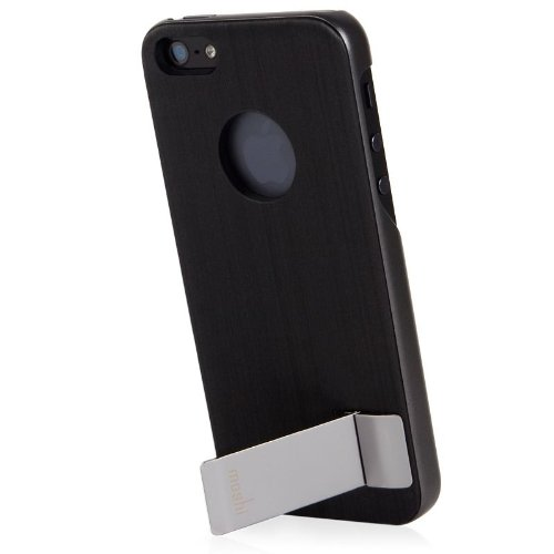 Moshi iGlaze Kameleon Cover für Apple iPhone 5 schwarz - I Moshi 5 Phone
