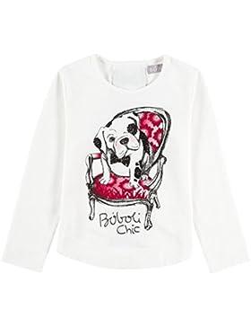 Boboli Mädchen Langarmshirt Stretch Knit T-Shirt For Girl