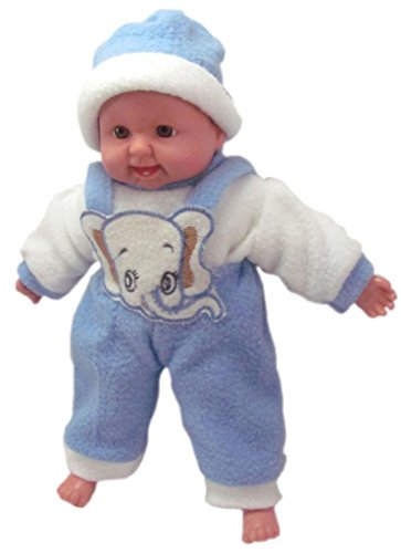 SMT Laughing Baby Stuffed toys Blue