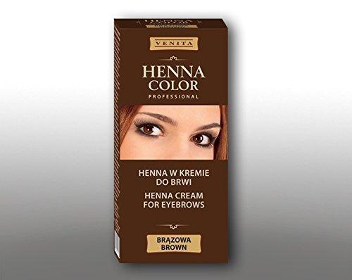 Henna color marrone crema per ciglia e sopracciglia gallina eco 100g = 11,63 euro gallina eco