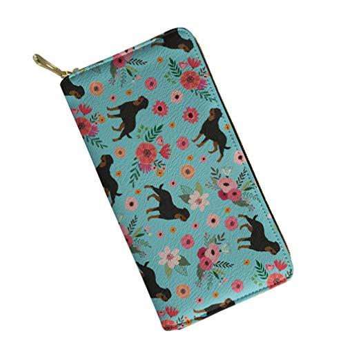 UFDIS, Damen Damen-Geldbörse Mehrfarbig Rottweiler P2123 Einheitsgröße (Rottweiler Geldbörse)