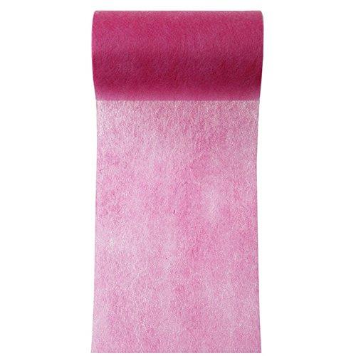 Santex Tischband Vlies pink 10cm x 10m