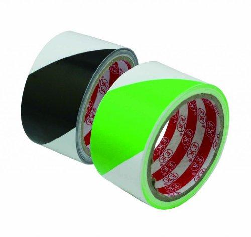 generic-boden-markierungsband-51-cm-x-20-yard-rolle-farbe-weiss-schwarz-und-grun-pack-2-sets