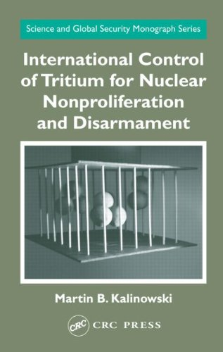 4: International Control of Tritium for Nuclear Nonproliferation and Disarmament (Science and Global Security Monograph Series)