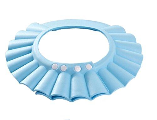 Enfants Bébé Cap Shampooing Shampoo Cap Bonnet de douche oreille bébé bonnet de bain Bain Douche Enfants Cap peut être ajustée ( couleur : Bleu )