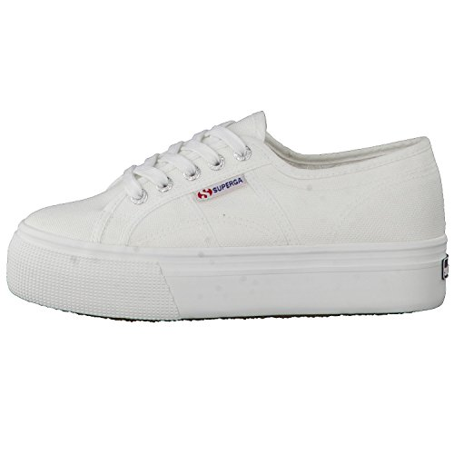 Superga Damen 2790 Acotw Linea Up and Sneakers White