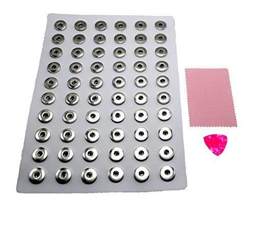 Pu-pads (Augfis PU Click-Button Sammel Pad Anzeigen von 18-20 mm Button aus Weiß (groß))