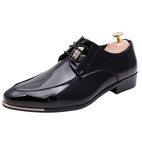 XiaoYouYu , Chaussures à lacets homme Noir