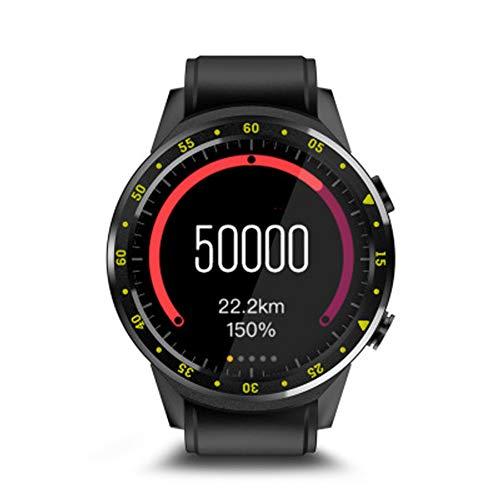 PXYAUN Smart Watch mit Herzfrequenzmesser, Leuchtende Farbe Schirm-wasserdichter Pedometer Armbanduhr, IP67 Wasserdichtes Activity Tracker mit Schlaf-Monitor-Uhr-Black (Monitor Activity Polar)