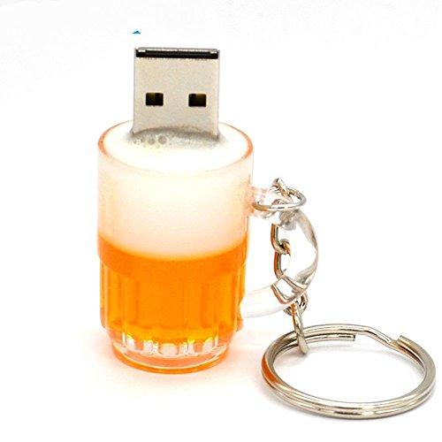 Rtyuvn 2017 real flash drive di memoria in plastica usb drive carino tazza di birra pendrives regalo memoria personalità regalo da 32 gb