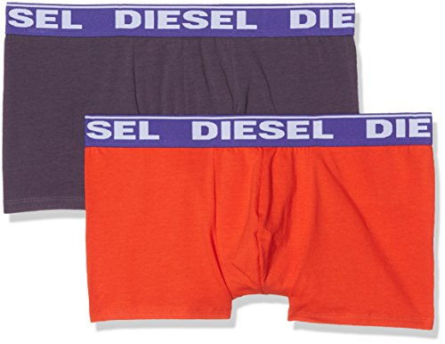 DIESEL Herren UMBX-SHAWN Boxershorts (2er Pack) Mehrfarbig