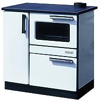 Wood Burning Cooking Stove Cooker Oven 9/15 kw PLAMAK White Enamel