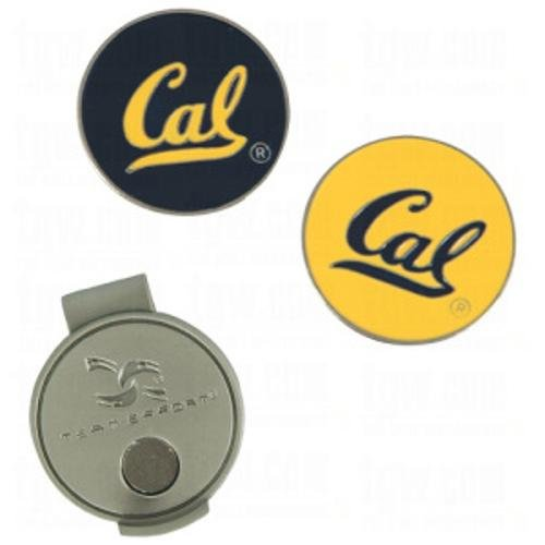 Team Effort Collegiate Hut-Clip und 2 Ballmarker, Cal Berkeley Golden Bears Hat Clip & 2 Ball Markers, UC-Berkeley Uc Berkeley Bears