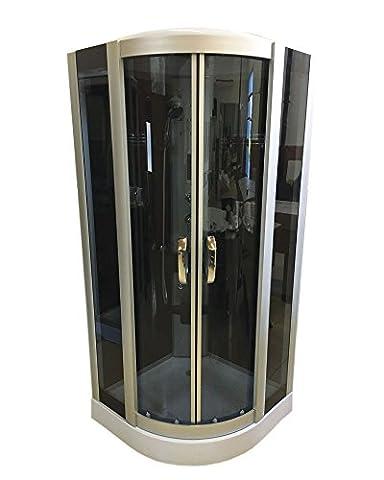 CABINE DE DOUCHE HYDROMASSANTE Modèle New York 90 x 90cm