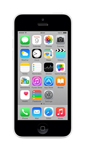 Apple iPhone 5c 8 GB UK-Sim-Free Smartphone - White (Generalüberholt)