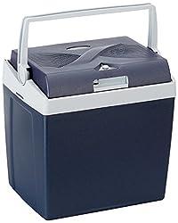 AmazonBasics Thermoelektrische Kühlbox mit Kühl- und Warmhaltefunktion - 26 Liter, 230V / 12V DC