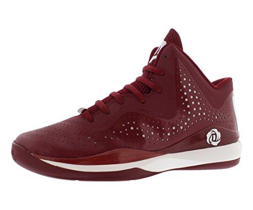 Adidas Sm D Rose 773 Iii Chaussures de basket Taille Us 16, Largeur régulière, Bourgogne Couleur Burgundy