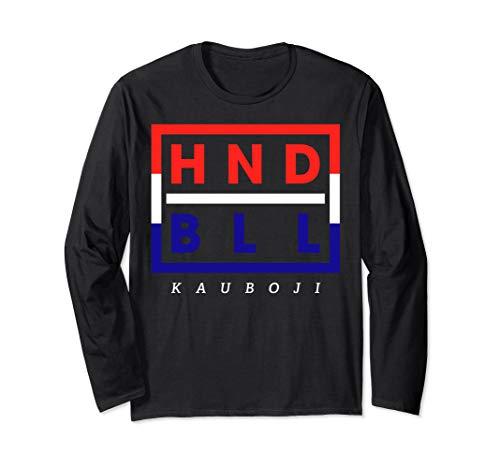Hrvatska Fan Trikot - HNDBLL Handballer Geschenk Langarmshirt