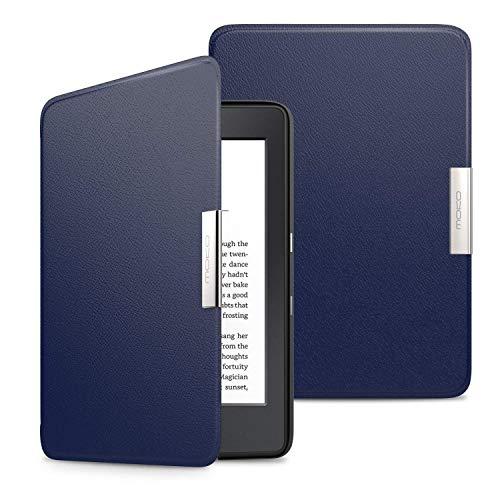 MoKo Kindle Paperwhite Hülle - Ultra Leightweight Slim Schutzhülle Smart Cover mit Auto Sleep / Wake Funktion für Alle Kindle Paperwhite (2016 / 2015 / 2013 Modelle mit 6 Zoll Bildschirm), Nicht Kompatibel für All-new Paperwhite 10th generation 2018, Marineblau