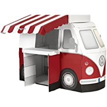 tanner 03444 - Original VW Foodtruck mit Theke und Zubehör, Vorschul Rollenspielzeug
