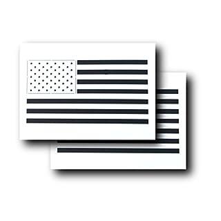 AcidTactical Airbrush-Schablonen für Airbrush-Mäler, Motiv USA-Flagge, 2 Stück