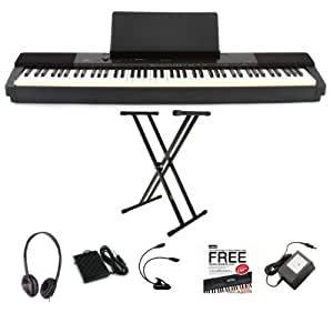 Casio Privia PX-150 Digital Piano Weighted Keys - DELUXE BUNDLE - LIMITED OFFER BY CHASE