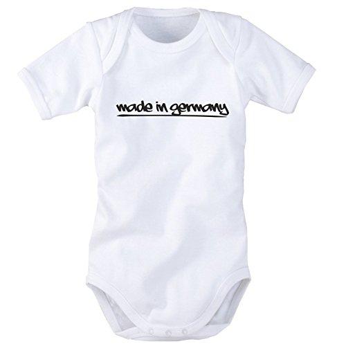 Babybody mit Aufdruck: Made in Germany (50/56)