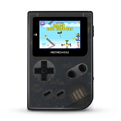 Consola portátil Ital Retro Mini + Micro SD 16Gb (151 juegos GBA y NES, ampliables con tarjeta MicroSD)