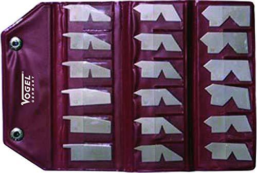 Winkellehrensatz Winkellehre rostfrei 5-90°