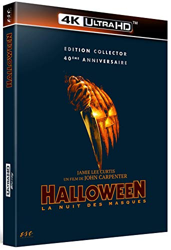 Halloween - 4K Ultra HD + Blu-Ray [4K Ultra HD + Blu-ray - Édition Collector 40ème Anniversaire]