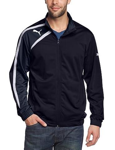 PUMA Herren Jacke Spirit Poly Jacket, New Navy/Blue Nights/White, S,