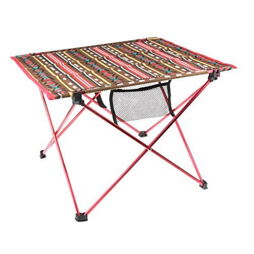 perfk Klapptisch Campingtisch klappbarer Tisch Falttisch Gartentisch