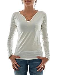tee shirt manches longues kaporal cyon beige