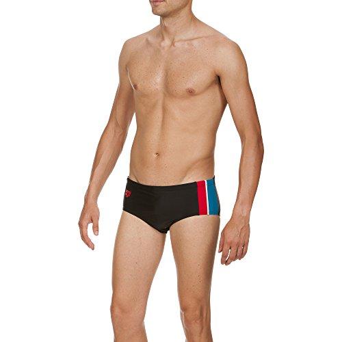 Arena Section Maillot de bain pour homme Noir - Black,Curacao,Shiny_Red