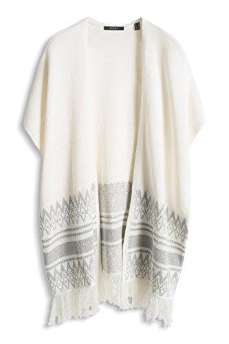 ESPRIT Collection Damen Strickjacke Mehrfarbig (OFF WHITE 4 113)